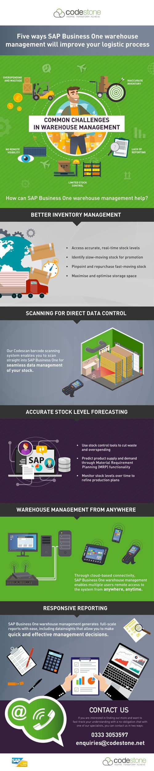 SAP Management Infographic-750