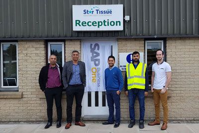 Star Tissue SAP Business One Flag
