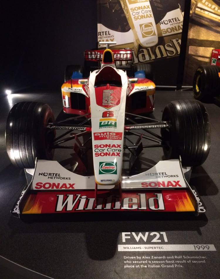 Williams supertec FW21