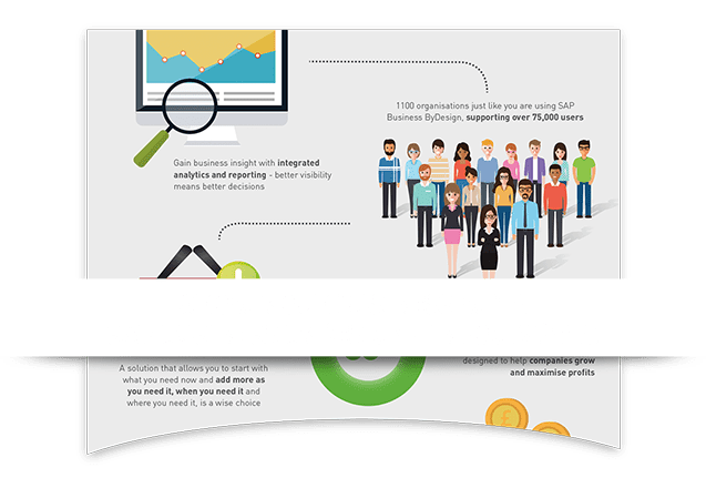 SAP Business ByDesign Infographic