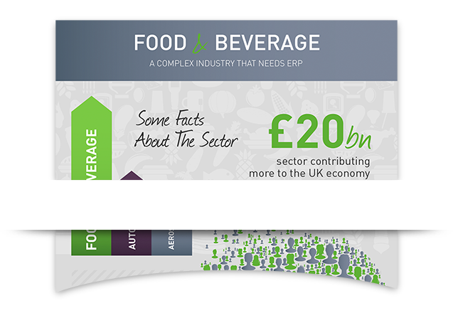 Food & Beverage ERP Infographic
