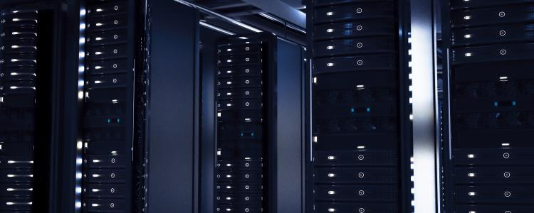 Servers storing business data