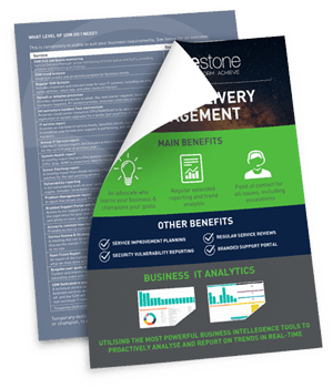 Service Delivery Management brochure