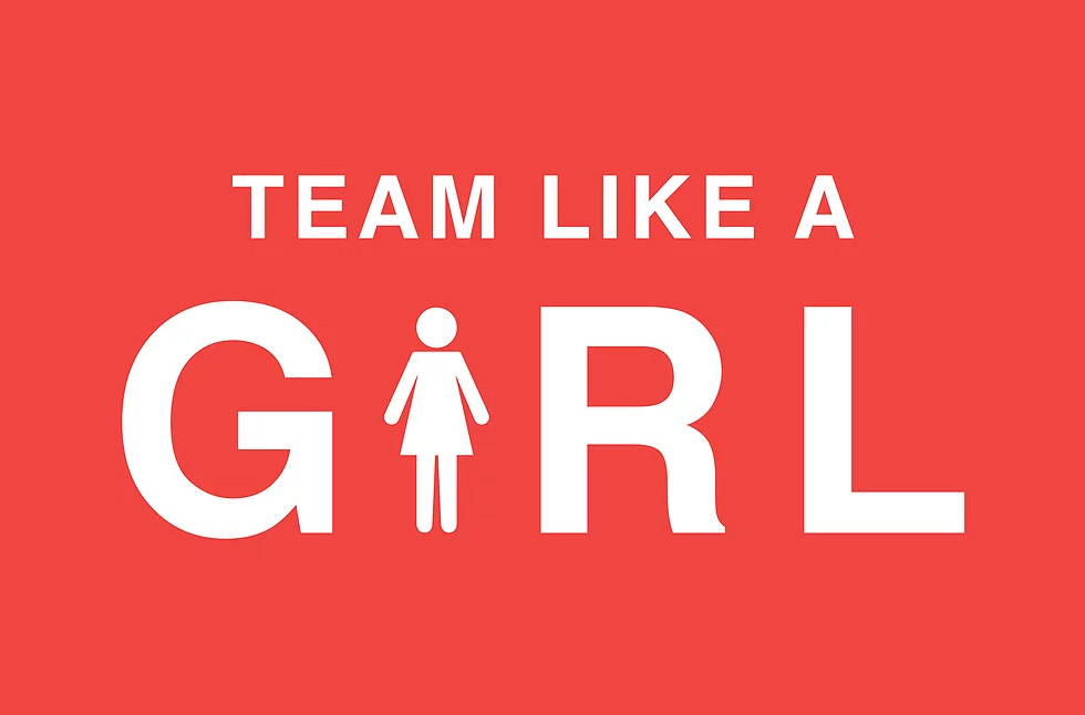 team like a girl logo