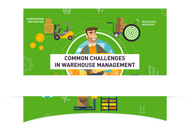 warehouse infographic